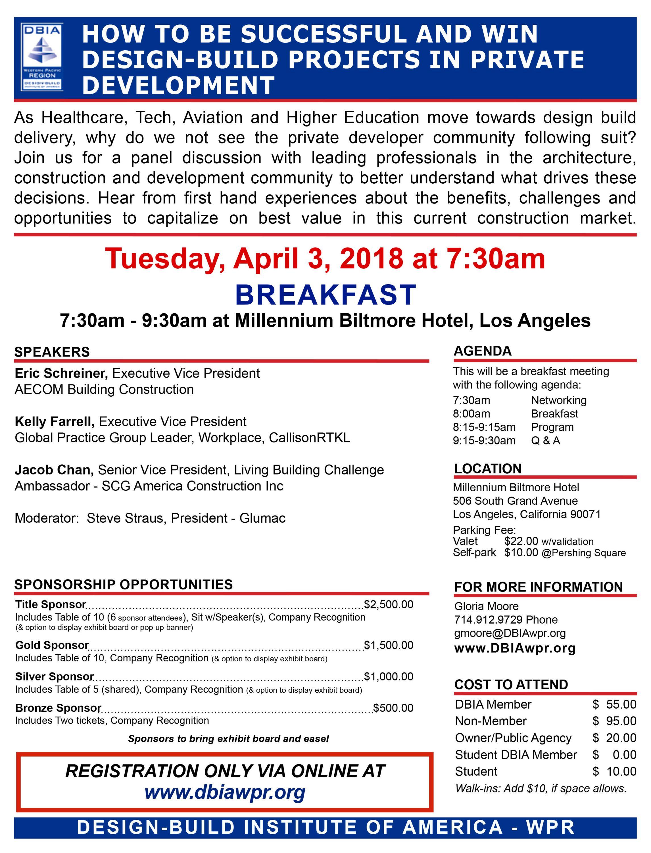Breakfast program laoc design build institute of america dbia wpr la breakfast program 040318 thecheapjerseys Choice Image