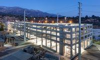 JPL West Arroyo Parking Structure – 480,000 sf, 5-story, 1,211-stall concrete parking structure