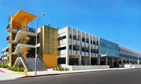 Los Angeles Valley College (LAVC) Monarch Center Parking Building; Valley Glen, CA –1,203 spaces, 4 levels