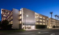 250 Spectrum Center Drive Parking Building; Irvine, CA –1,245 spaces, 5 levels (1 below grade)