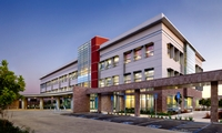 Kaiser Medical Offices San Mateo. New, 66,000 SF, 3-story medical office building erected in 6.5 days. LEED Silver.