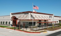 San Joaquin Regional Transit Center - 100,000 sf maintenance, 20,000 sf fuel break tire, and 8,000 sf wash buildings.