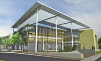 Merritt College Science and Allied Health Building, $42M, 110,000 s.f., 4 story, pursuing LEED Silver