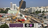 Purple Line Extension – Extension of the existing LA Metro Purple Line to Beverly Hills.
