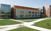 A four-level, 200,000 sq. ft. complex for the study of natural sciences and advanced mathematics at St. Olaf College.