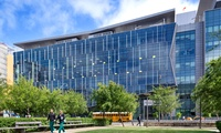 UCSF, PCMB Mission Bay: 170,000sf Cancer Medicine Building. LEED Gold, Traditional Design Build