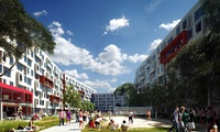 Housing complex consisting of 880 units of single occupancy micro apartments plus common areas