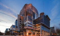 Iconic 9 story new library, AGA custom systems